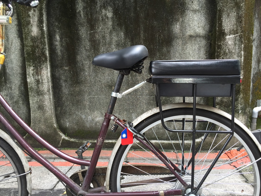 customer photo of companion bike seat in taipei