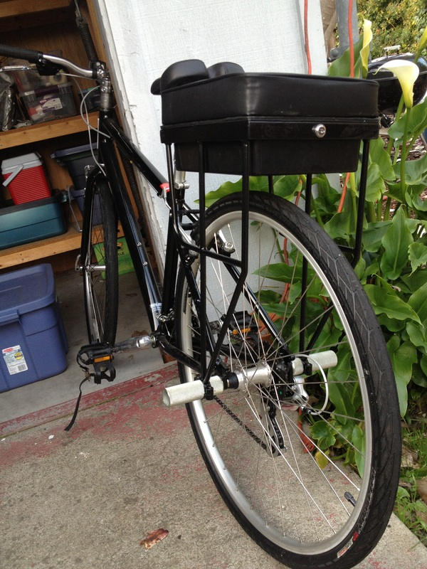 Companion Bike Seat prototype