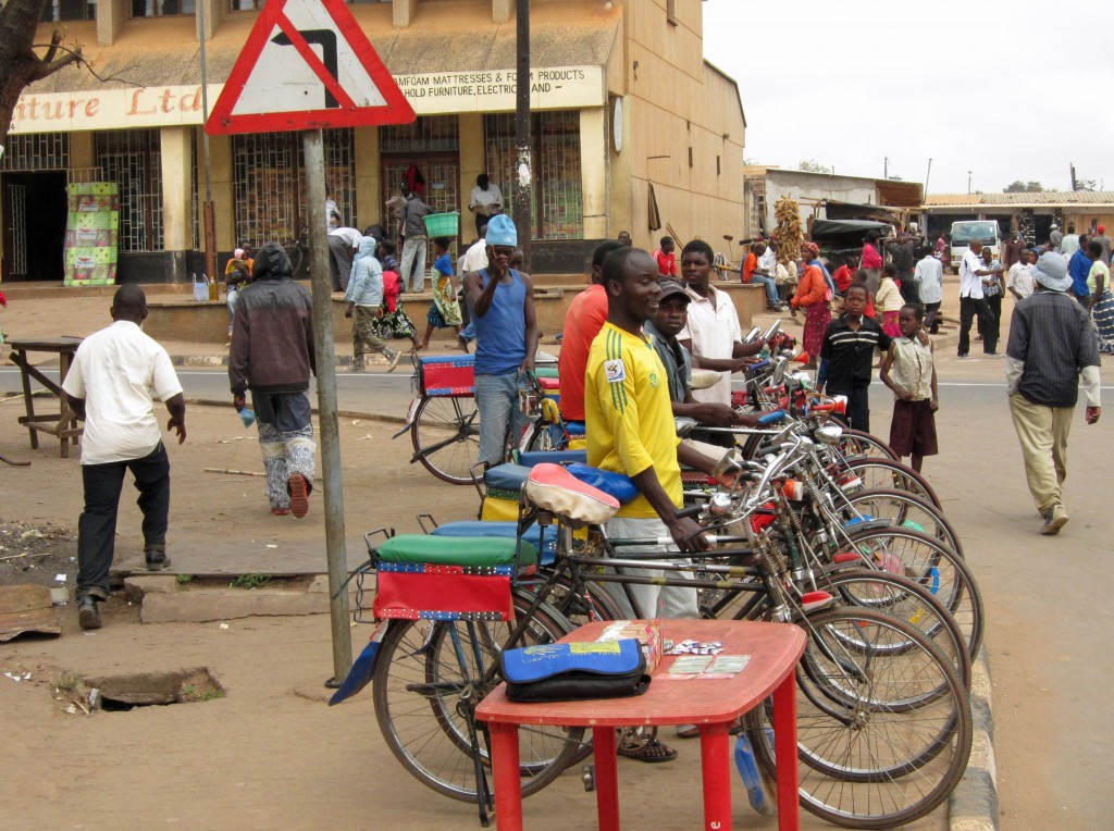 malawi bicycle taxis