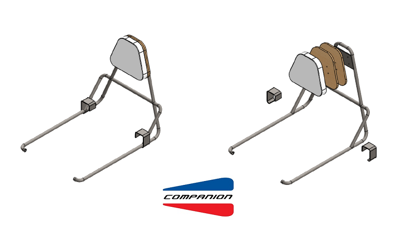bike seat backrest assembly specs