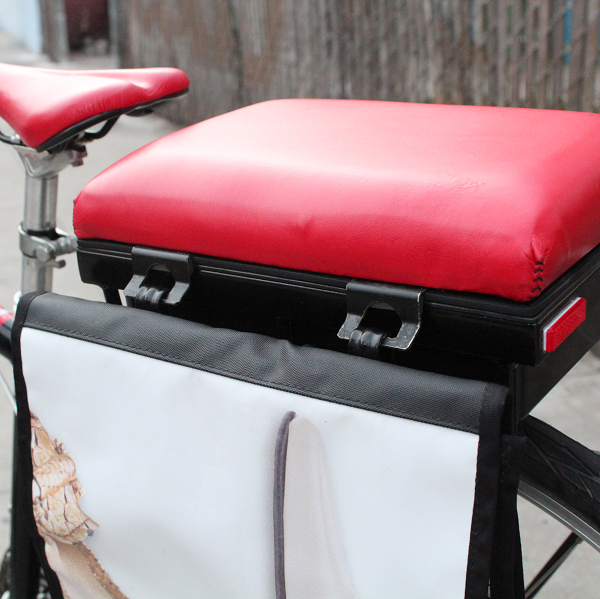 pannier hooks with Companion Bike Seat
