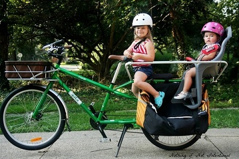cargo bike with all the accessories